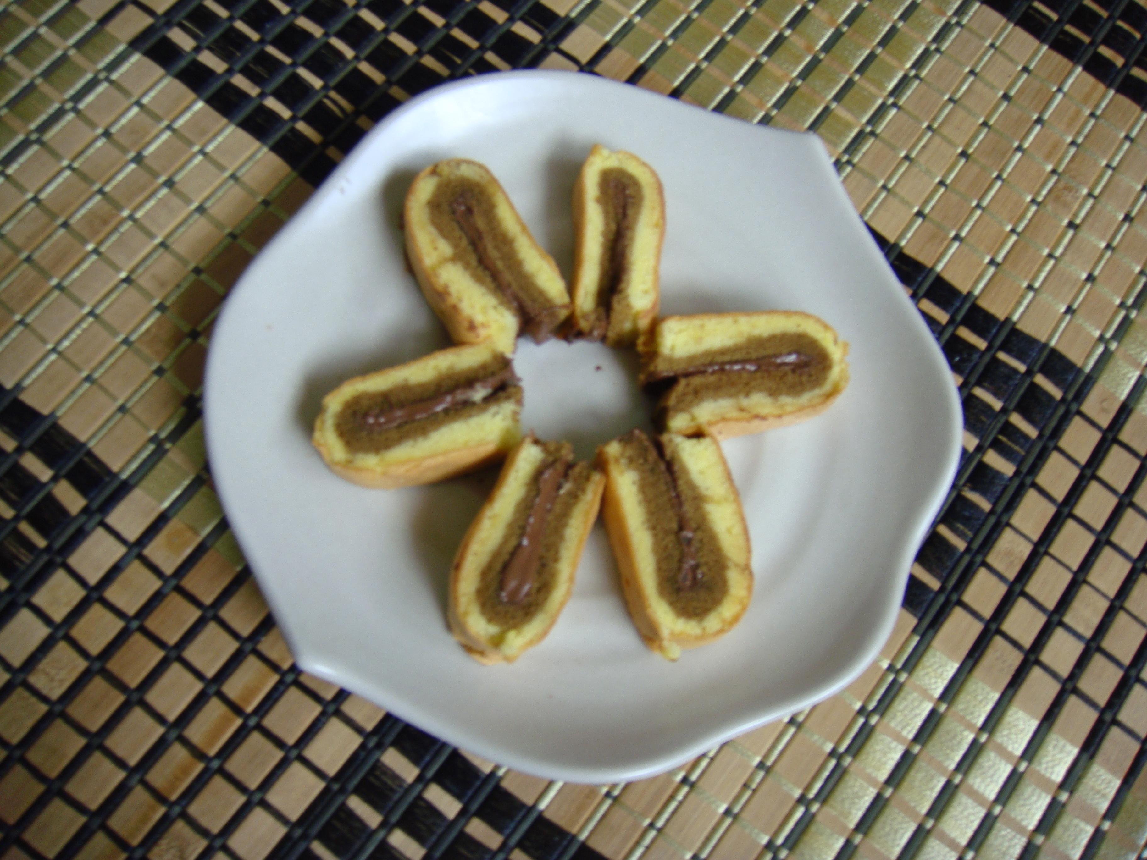 Kek Tapak Kuda Nutella Nutella Horse Shoe Cake Baking Abode